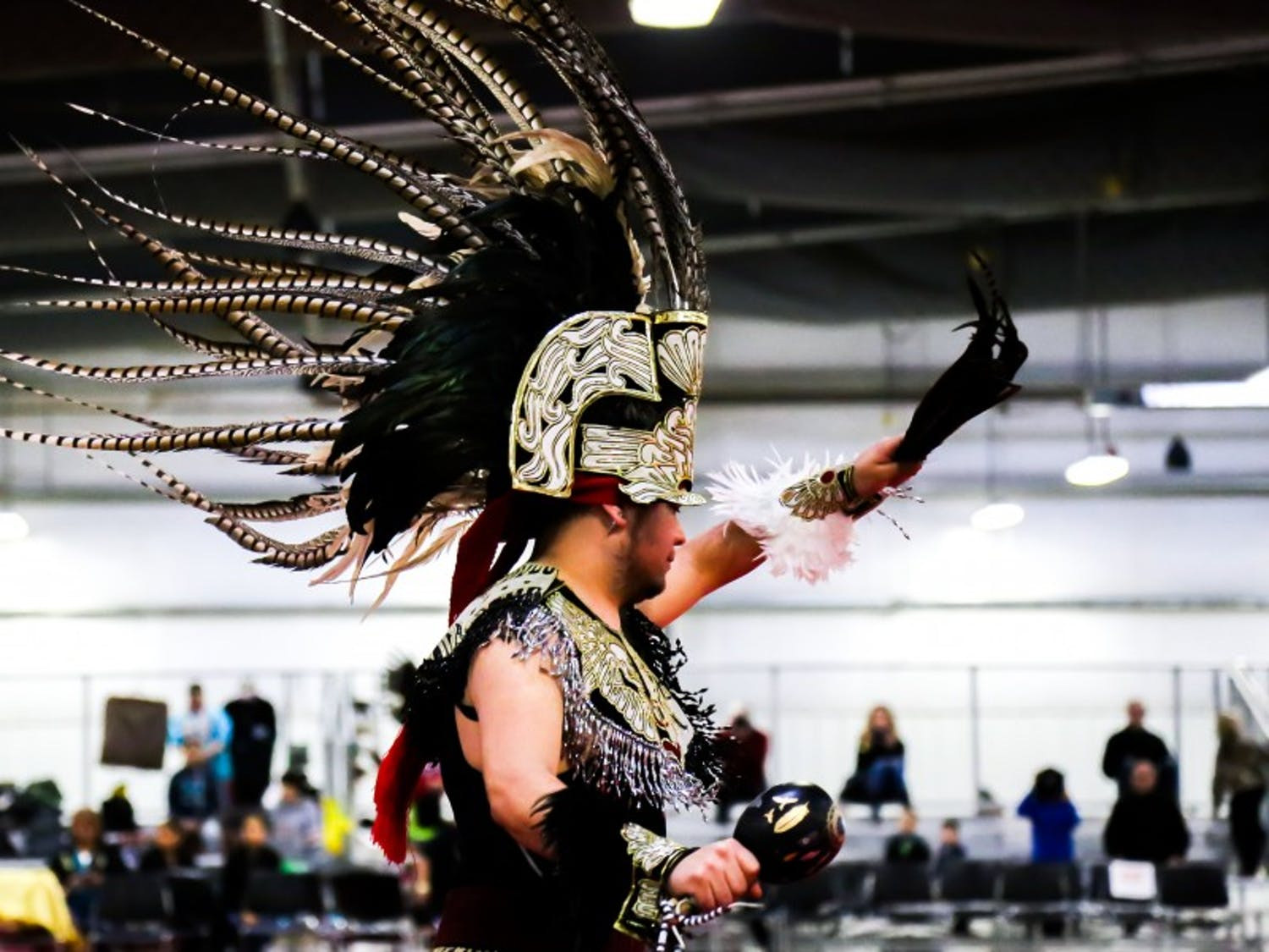 The 48th Annual Spring Powwow welcomed Native Americans from across the nation and members of the Madison community at the New Holland Pavilion over the weekend.