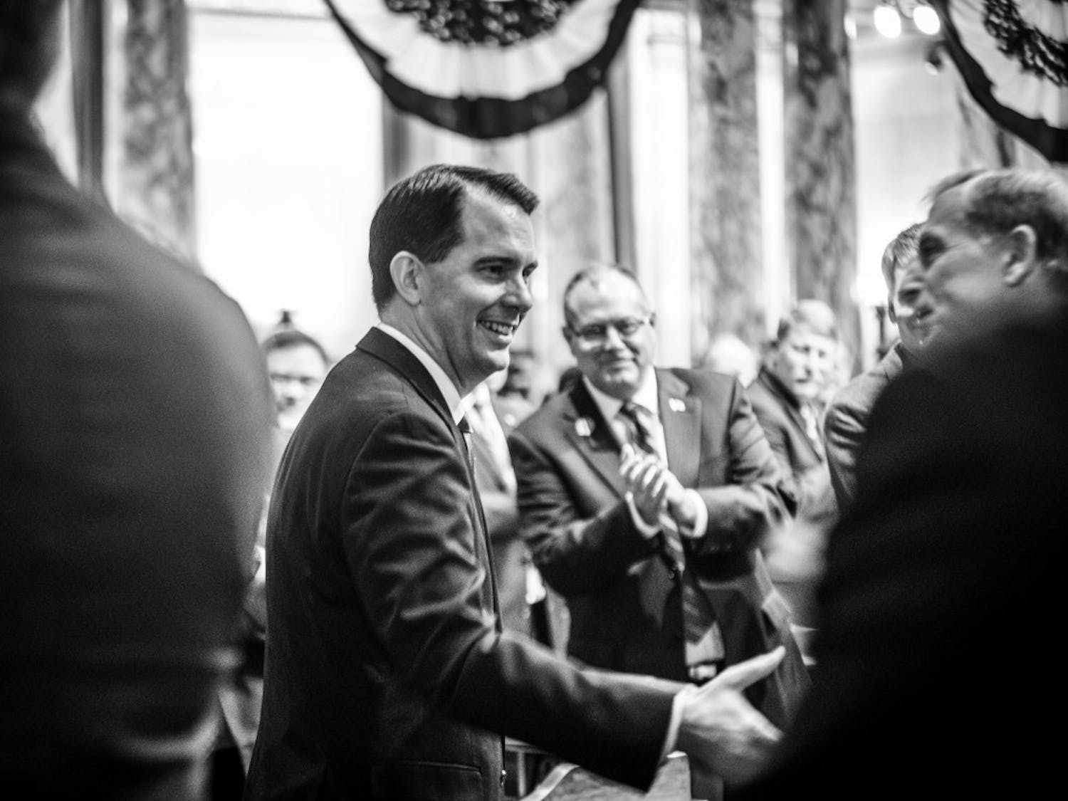 Gov. Scott Walker unveiled the package ofcollege affordability billsin his State of the State address earlier in the month.