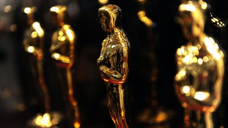 Golden Oscar awards sit waiting to be handed out to Hollywood's finest performers and creators.