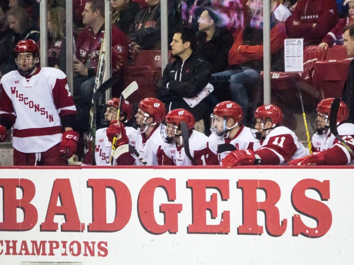 Both the Badger men's hockey and basketball teams treated fans in New York to thrilling wins at Madison Square Garden.