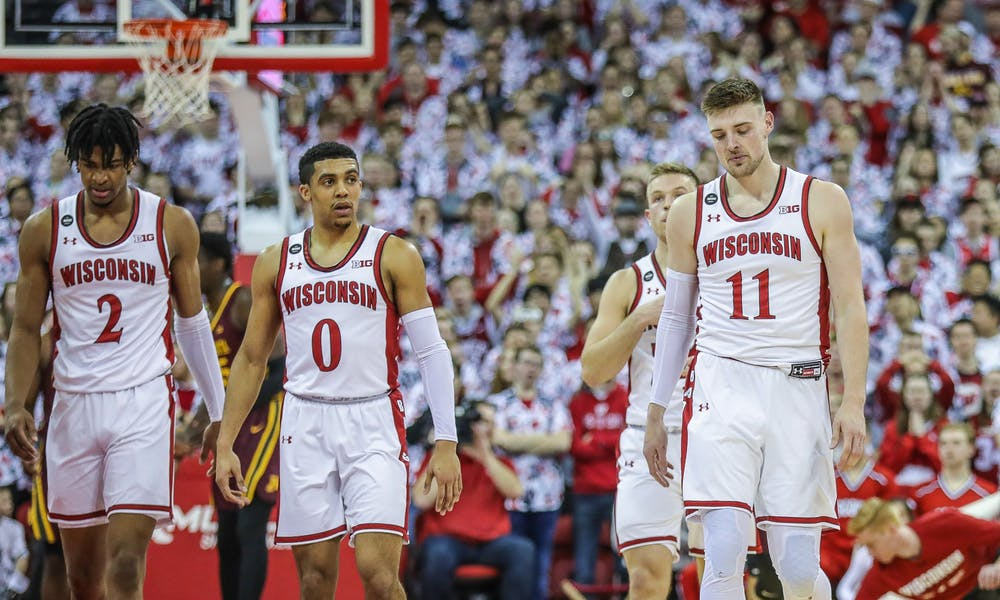 <p>The veteran Badgers could not handle the Wolverines on Tuesday night, leading to one of their worst losses of the season.</p>