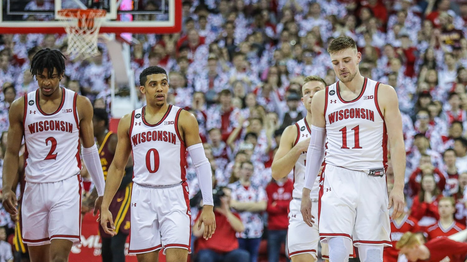 The veteran Badgers could not handle the Wolverines on Tuesday night, leading to one of their worst losses of the season.