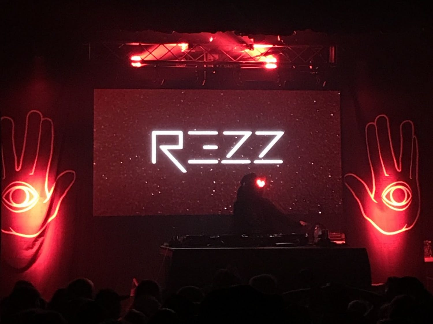 Canadian DJ Rezz bringstrippy visuals and heavy bass to a sold-out show at the Majestic Theatre last Thursday.