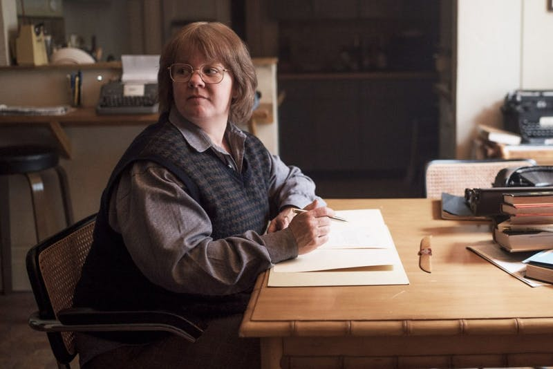 """Melissa McCarthy as Lee Israel in the film """"Can You Ever Forgive Me?""""."""