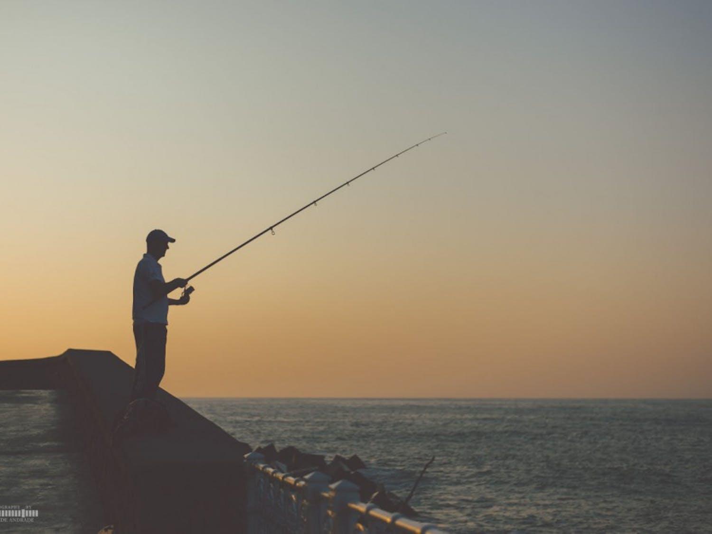 Earl Schweigert fishing