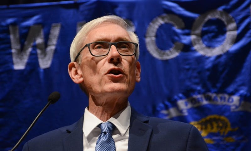 """Gov. Evers previously vowed to close the """"dark store"""" loophole which lets big businesses get tax breaks for closed stores in the area."""