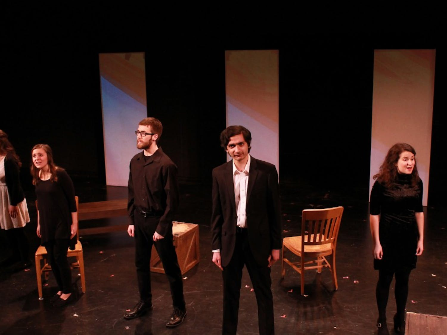 """Undergraduate Theatre Association's """"Songs for a New World,"""" performed April 6-9."""