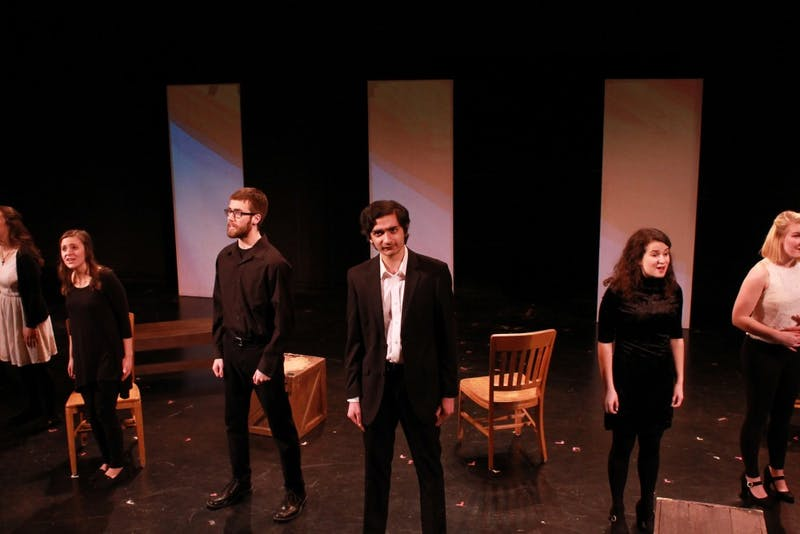 "Undergraduate Theatre Association's ""Songs for a New World,"" performed April 6-9."
