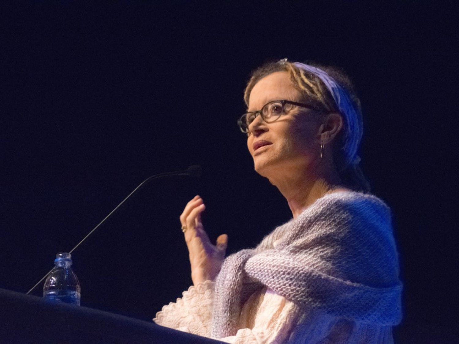 AnneLamott talked eloquently about navigating the difficult journey of self-forgiveness.