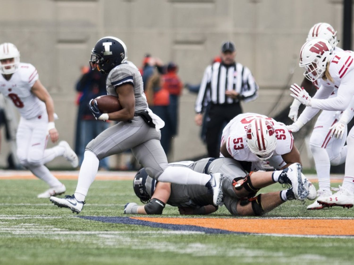 Illinois is averaging 229 yards per game on the ground in the2018season and already has more wins in 6 games than in the previous two seasons.
