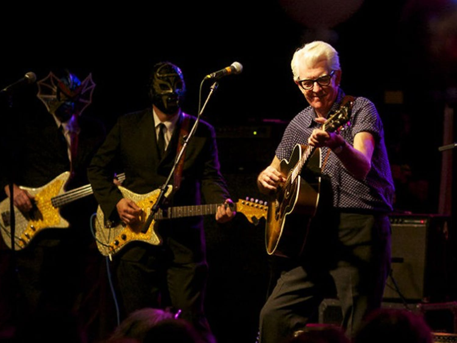 Nick Lowe spreads cheer on new tour