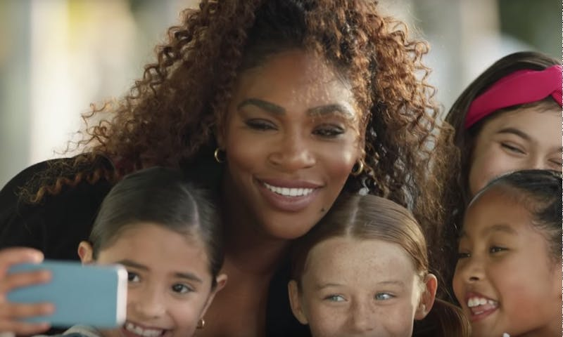 Serena Williams, along with other prominent celebrities, starred in commercials during the Super Bowl that caused a lot of debate in the feminist movement.
