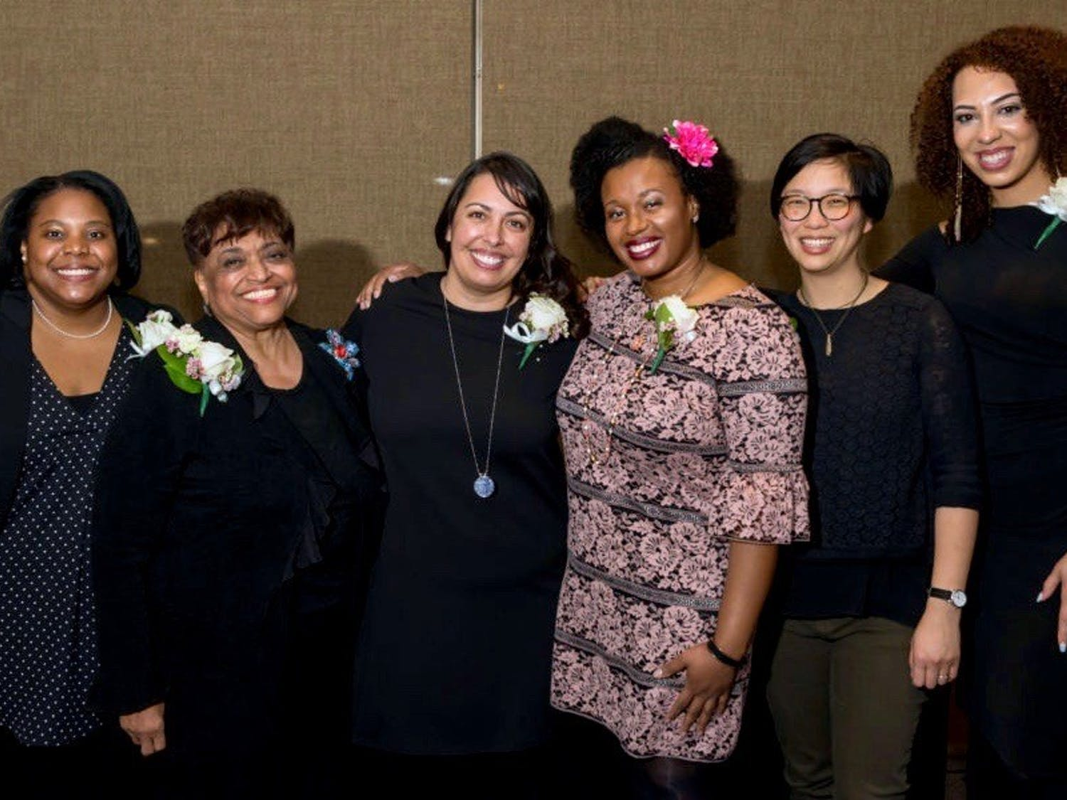 Pictured are some of last year's winners of the annual Outstanding Women of Color Awards.