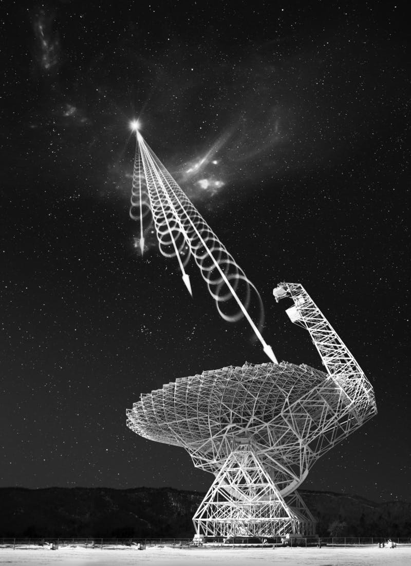 Green Bank Telescope is the the largest steerable radio telescope in the world.