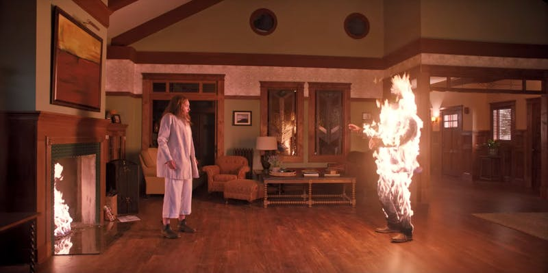 Toni Collette stars in an A24 thriller 'Hereditary,' a perfect watch around the spookiest season of the year, Halloween.