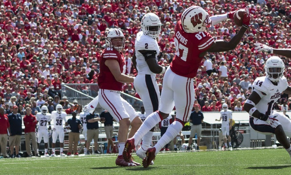Quintez Cephus has been a spark plug for the Badger offense, and gives them some much needed balance on that side of the ball.