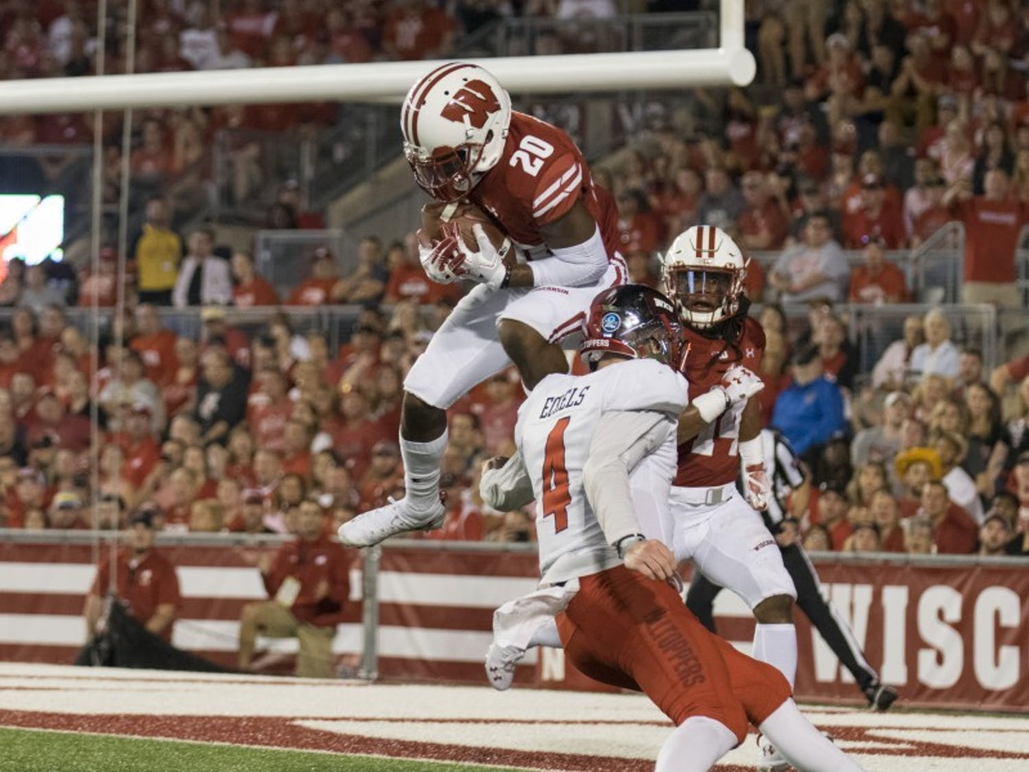 Sophomore cornerback Faion Hicks was one of the bright spots for Wisconsin in his freshman season, starting 11 games and recording four passes defended.