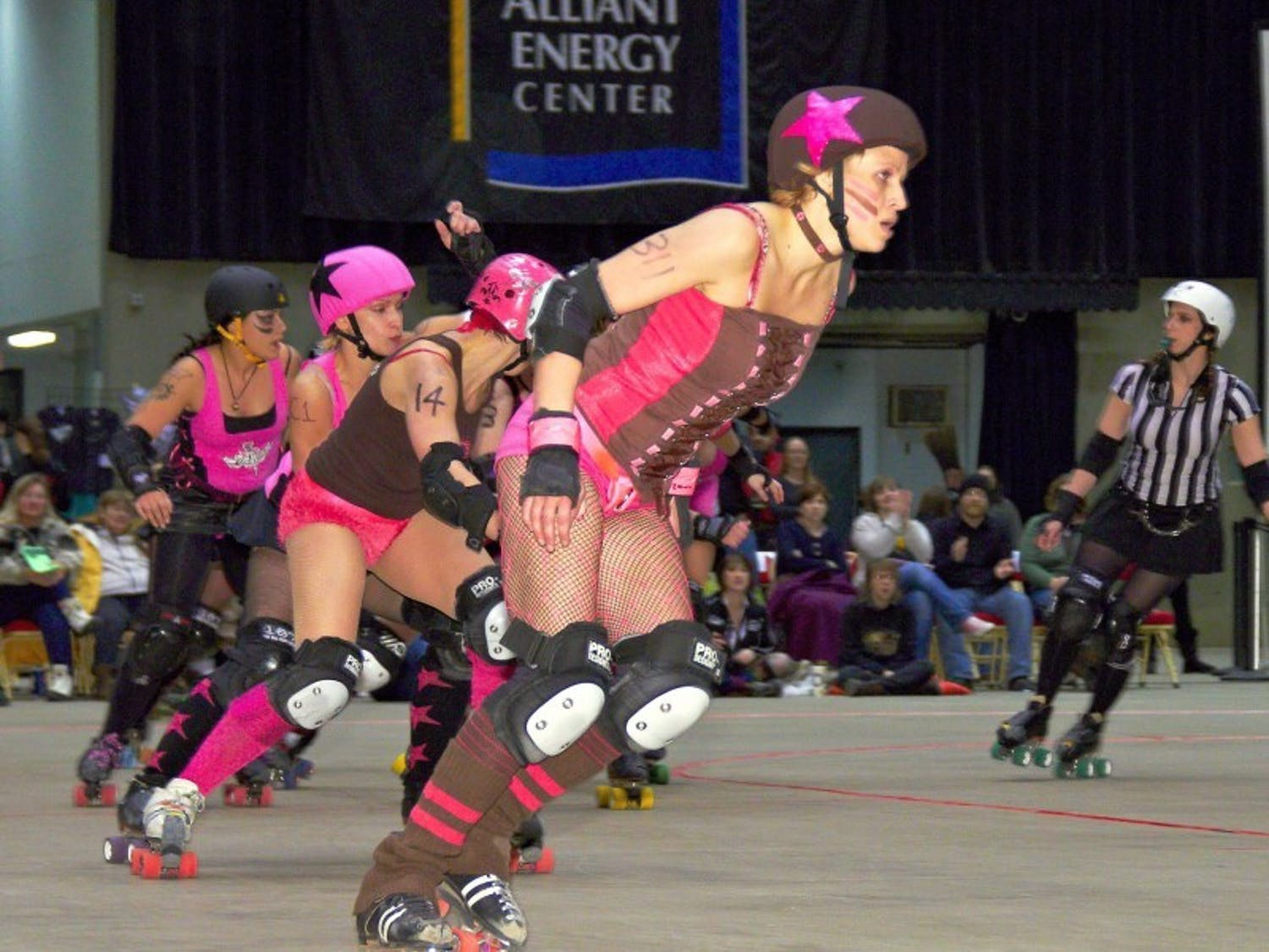 Chop Suzzy: Powerful in pink