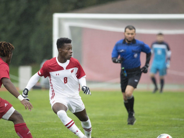 Freshman forward Andrew Akindele leads the team with three goals.