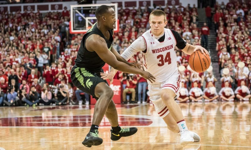 The Badgers basketball team has lower expectations this season as evidence by the slower sell out of student season tickets.