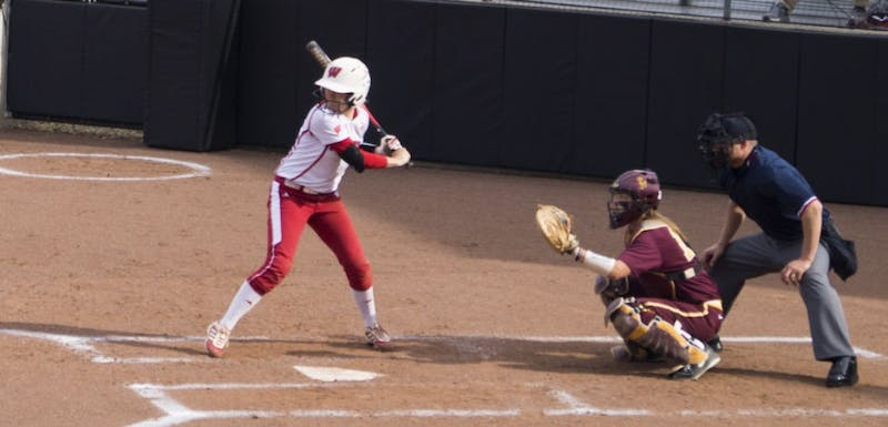 Kelsey Jenkins reached base nine times over the weekend.