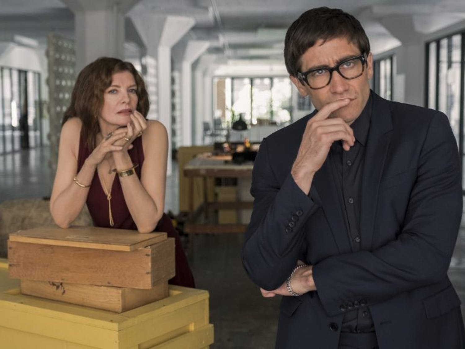 "Rene Russo and Jake Gyllenhaal's performances aren't enough to save ""Velvet Buzzsaw""."