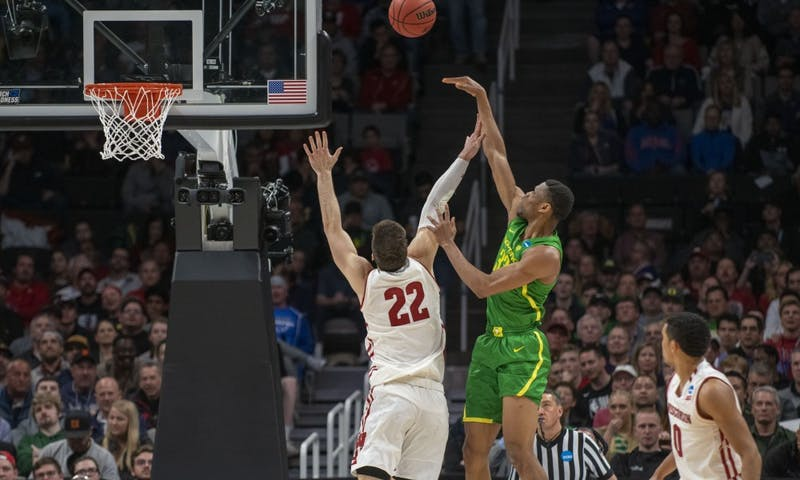 0e45c065d0c Wisconsin upset by Oregon 72-54 in first round of NCAA Tournament ...