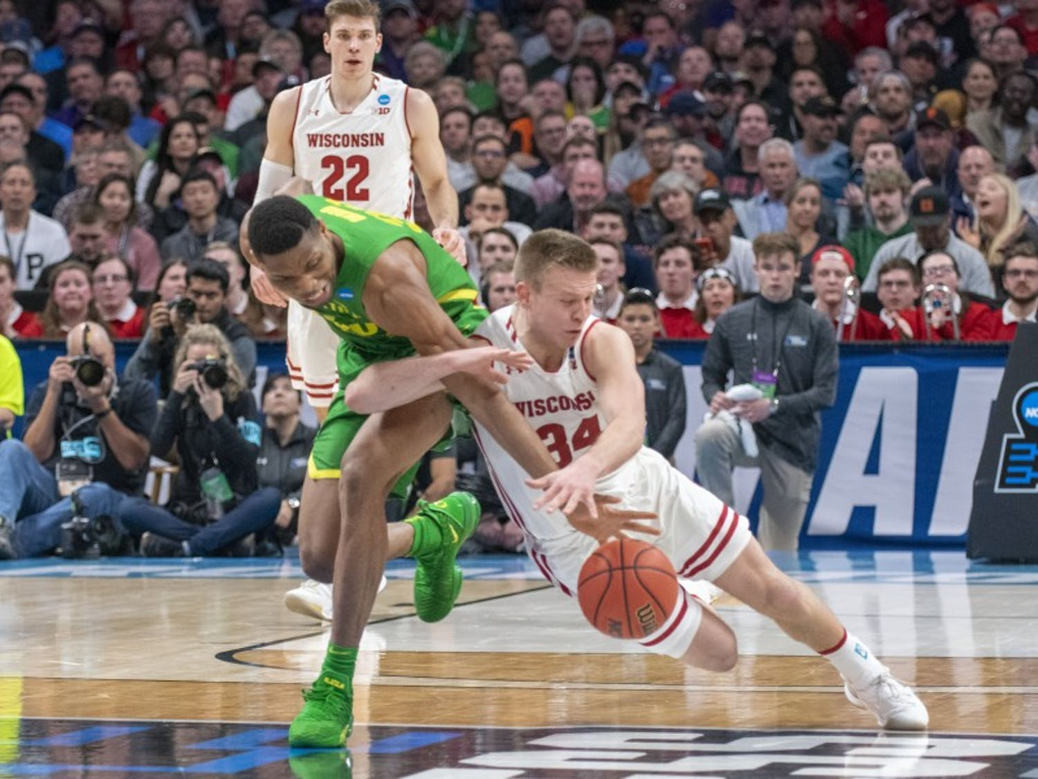 Wisconsin was able to hold its own when the game was slow and physical, but it simply couldn't compete with Oregon when the play sped up.