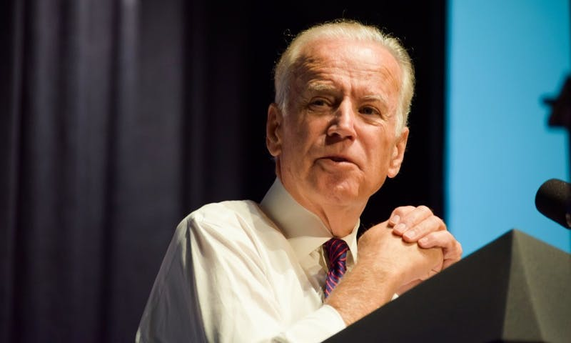 Political writer Clare Malone spoke Tuesday about why former Vice President Joe Biden holds the majority of Black voters for upcoming presidential election despite involvement in racial controversies in a speech at Vilas Communication Hall.