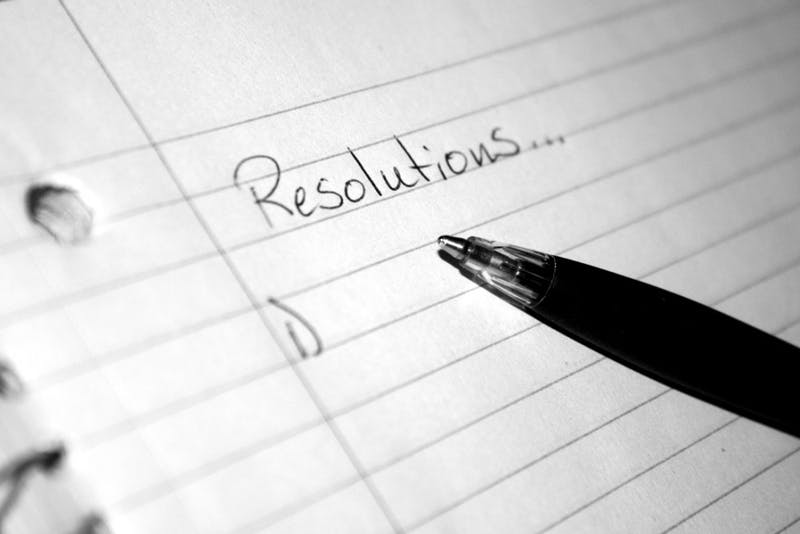 New Year's resolutions have become a social norm in the lives of many Americans. Studies show that only 46 percent of people maintain their resolutions past 6 months, with 25 percent giving up in week one.