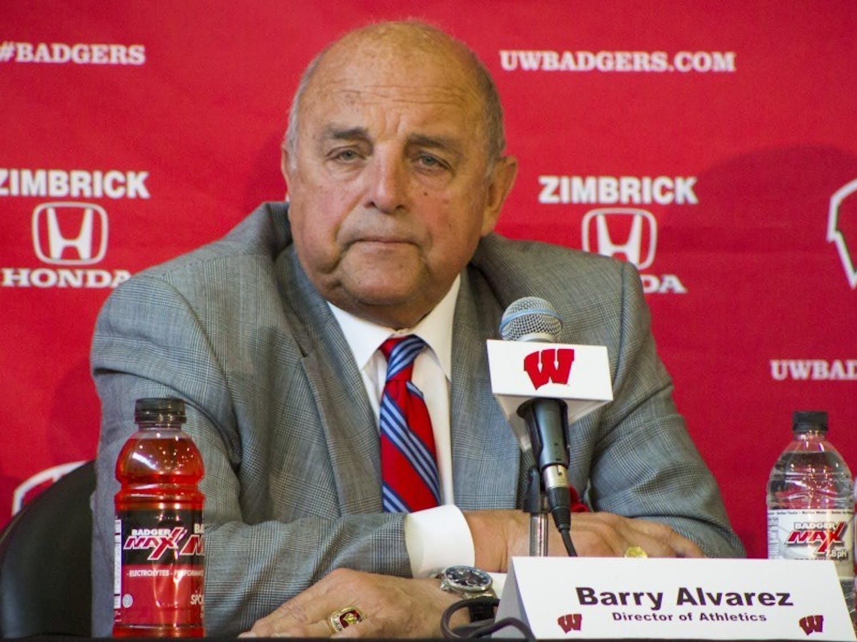 Photo of Barry Alvarez.