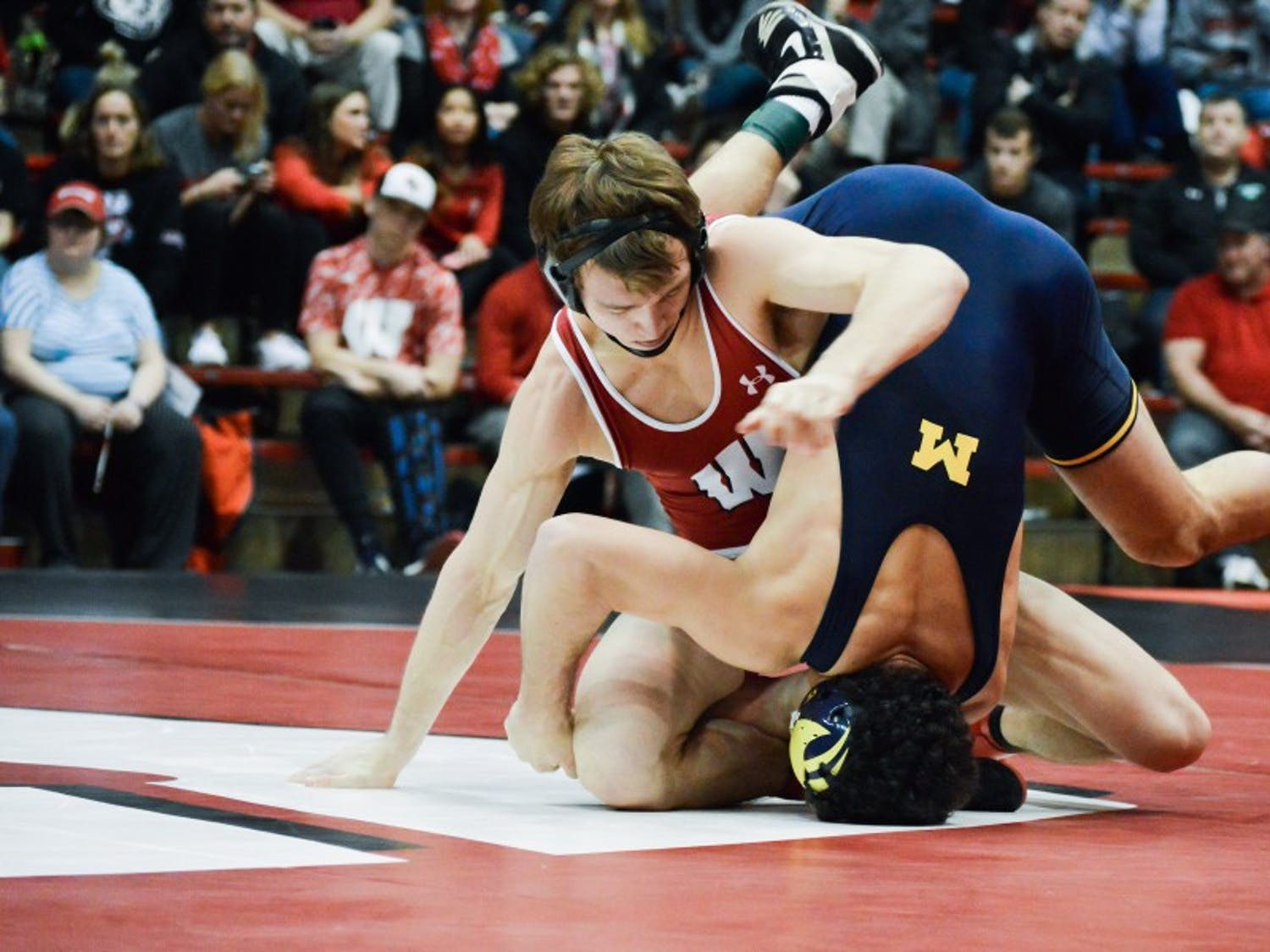 Wisconsin has only two regular season matches left against Rutgers and Purdue.