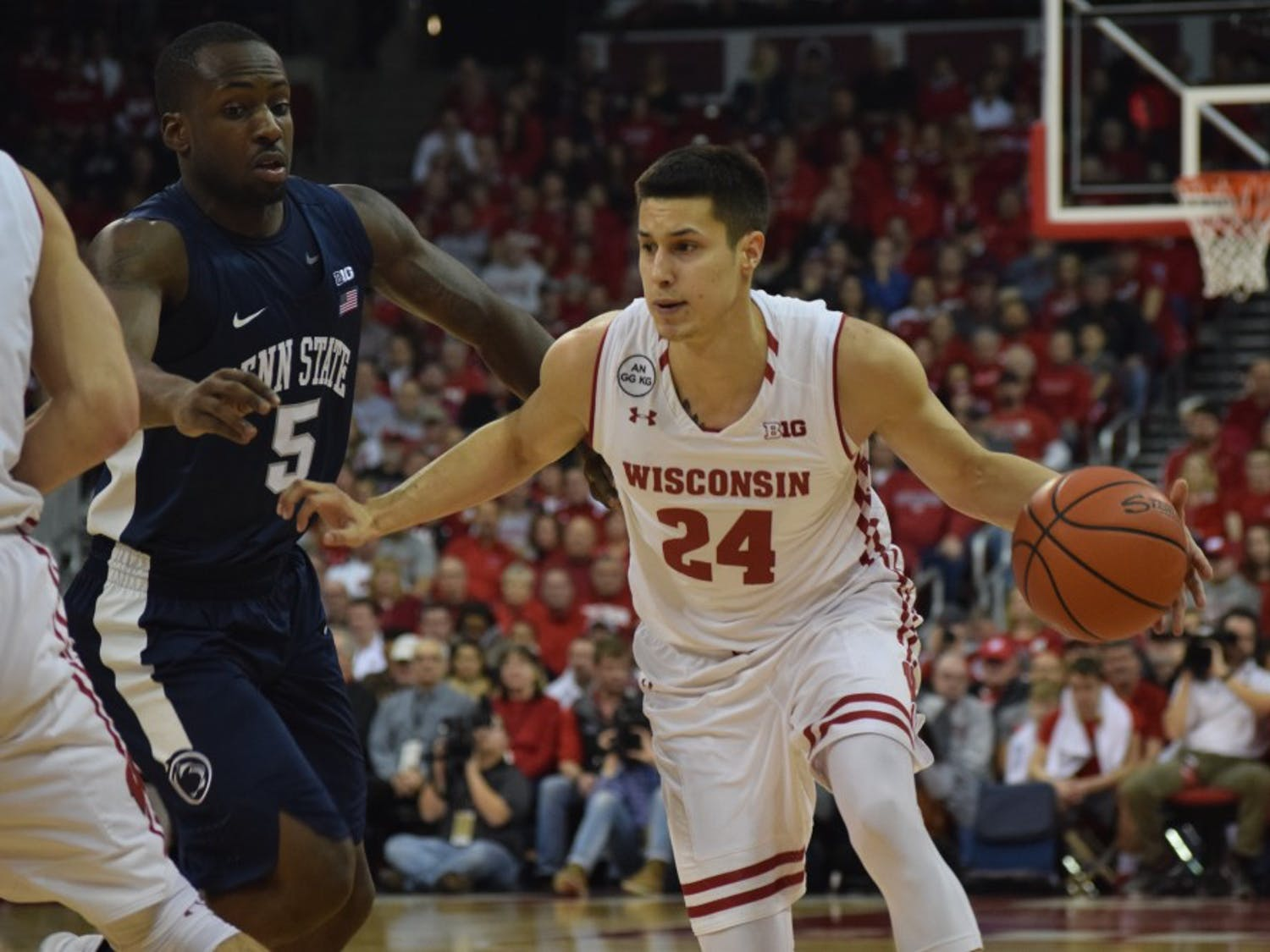 Koenig was sidelined with an injury and the Badgers couldn't get a win in his absence.