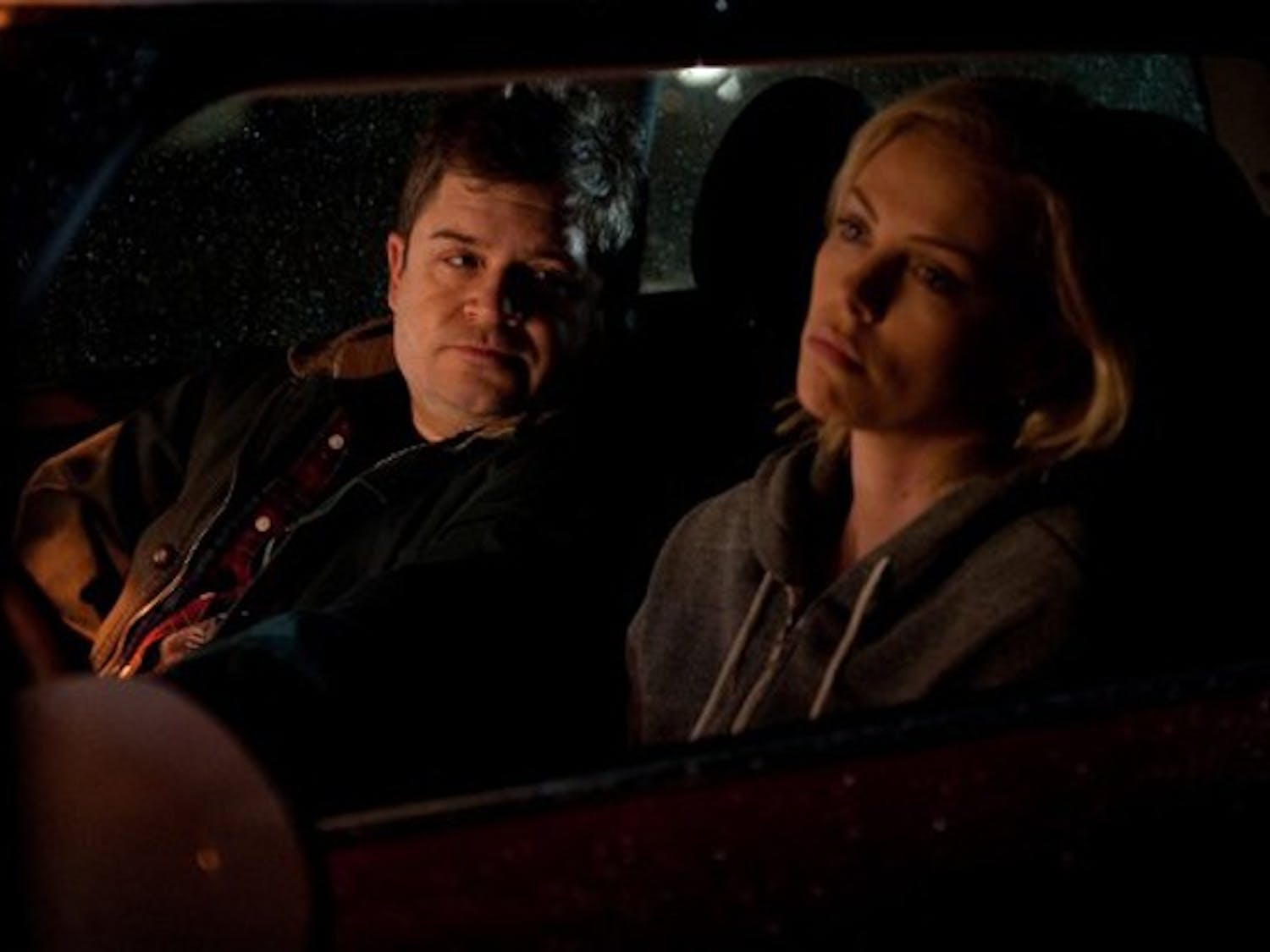 """Patton Oswalt and Charlize Theron in """"Young Adults"""""""