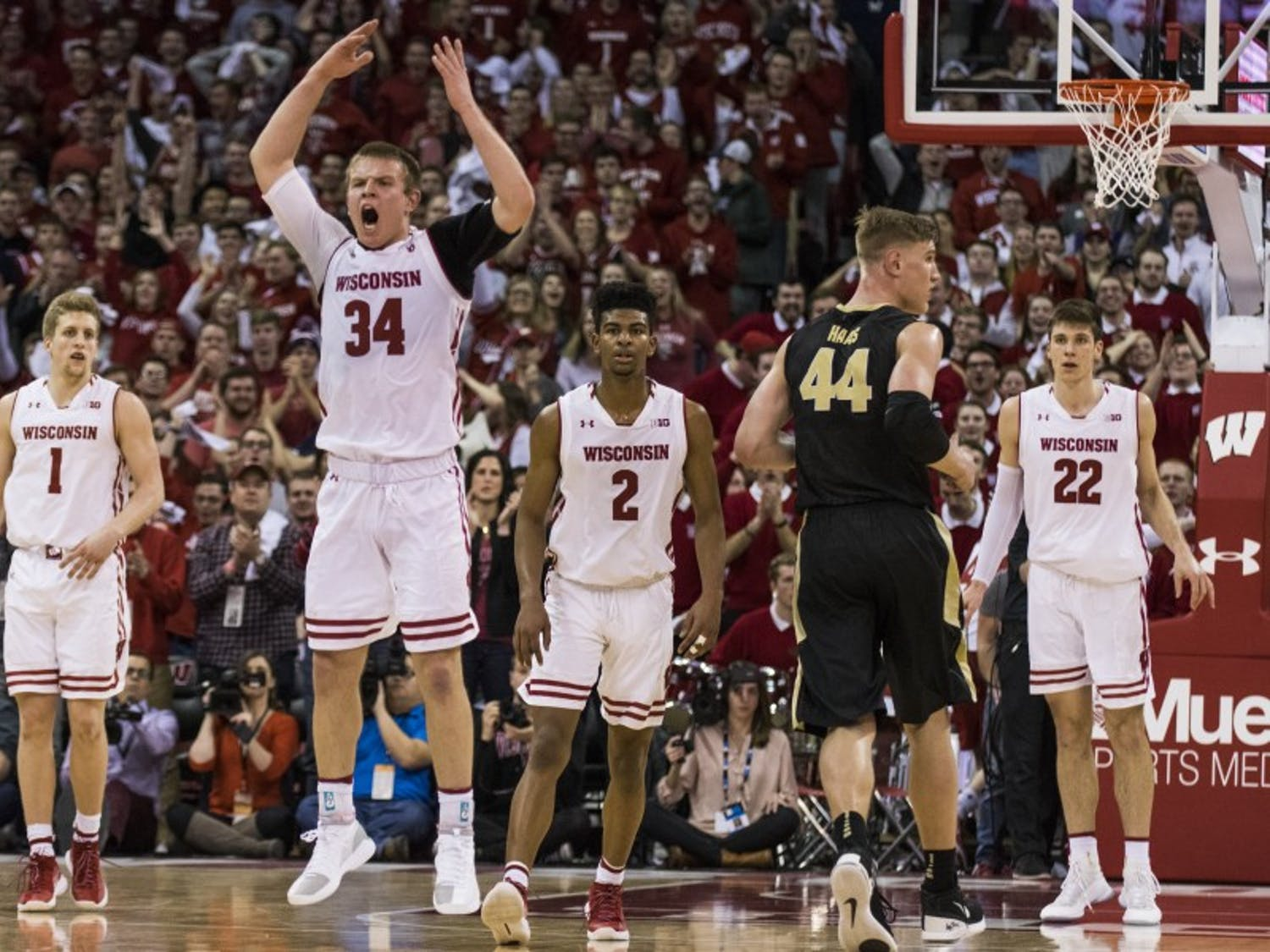 Brad Davison is leading the Badgers into what they hope is a deep Big Ten Tournament run.