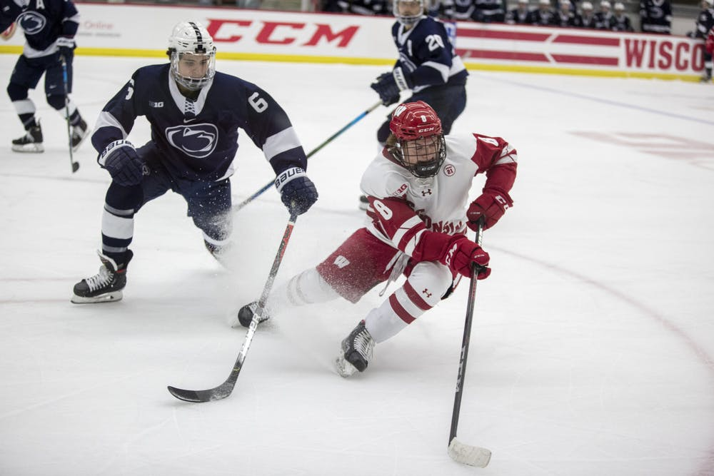 <p>Badger forward Cole Caufield tallied 14 goals and three assists for Team USA during the World Juniors.</p>