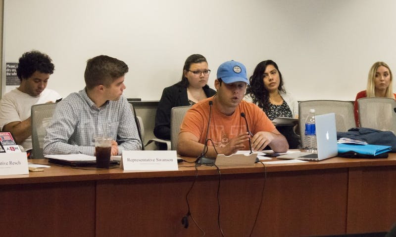 """Student Services Finance Committee Representative Max Goldfarb called the Greater University Tutoring Services eligibility hearing a """"slam dunk."""""""