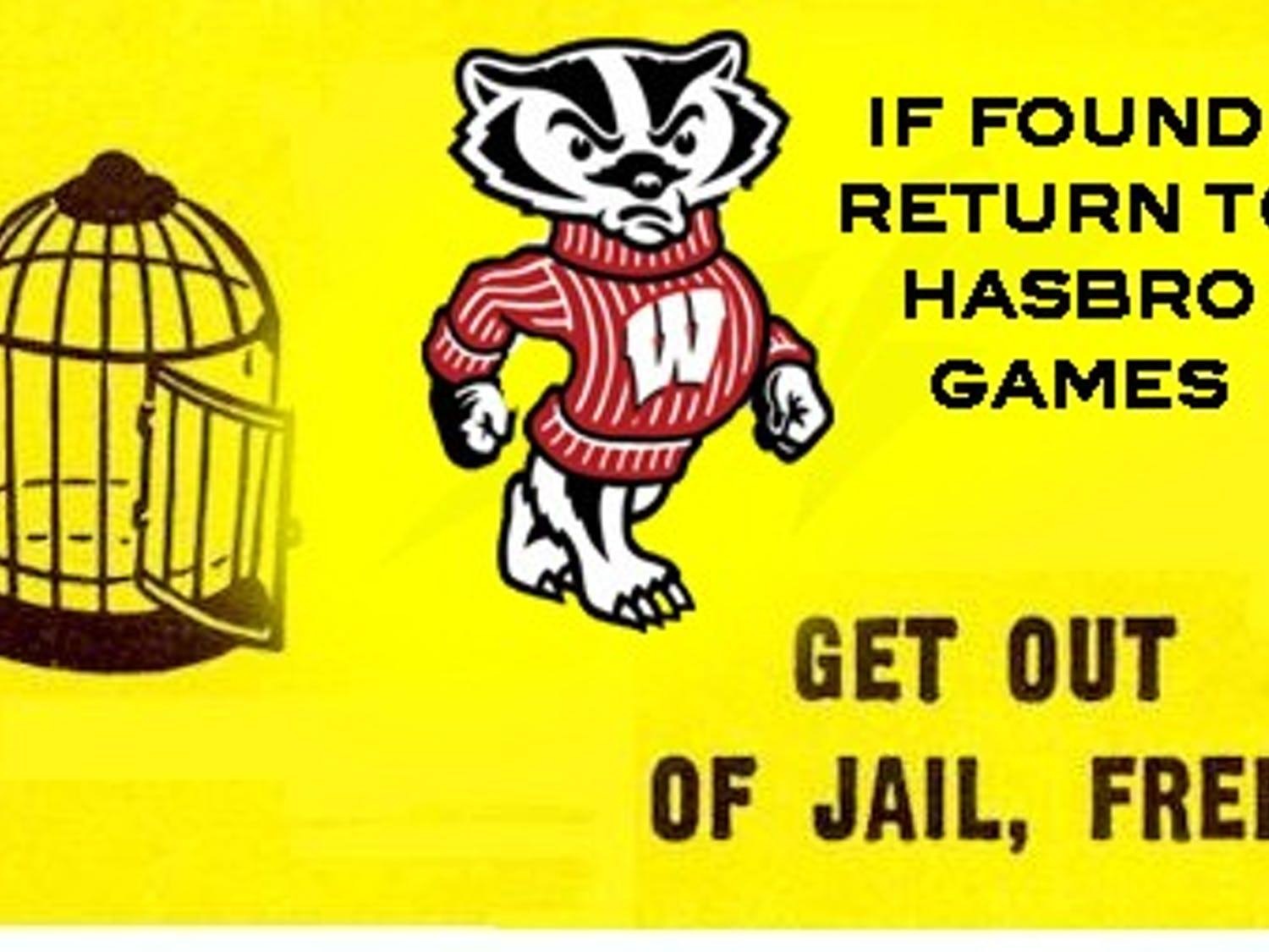 """A """"Get Out of Jail Free"""" card found in a pile of puke outside of Kollege Klub by Cardinal correspondents"""