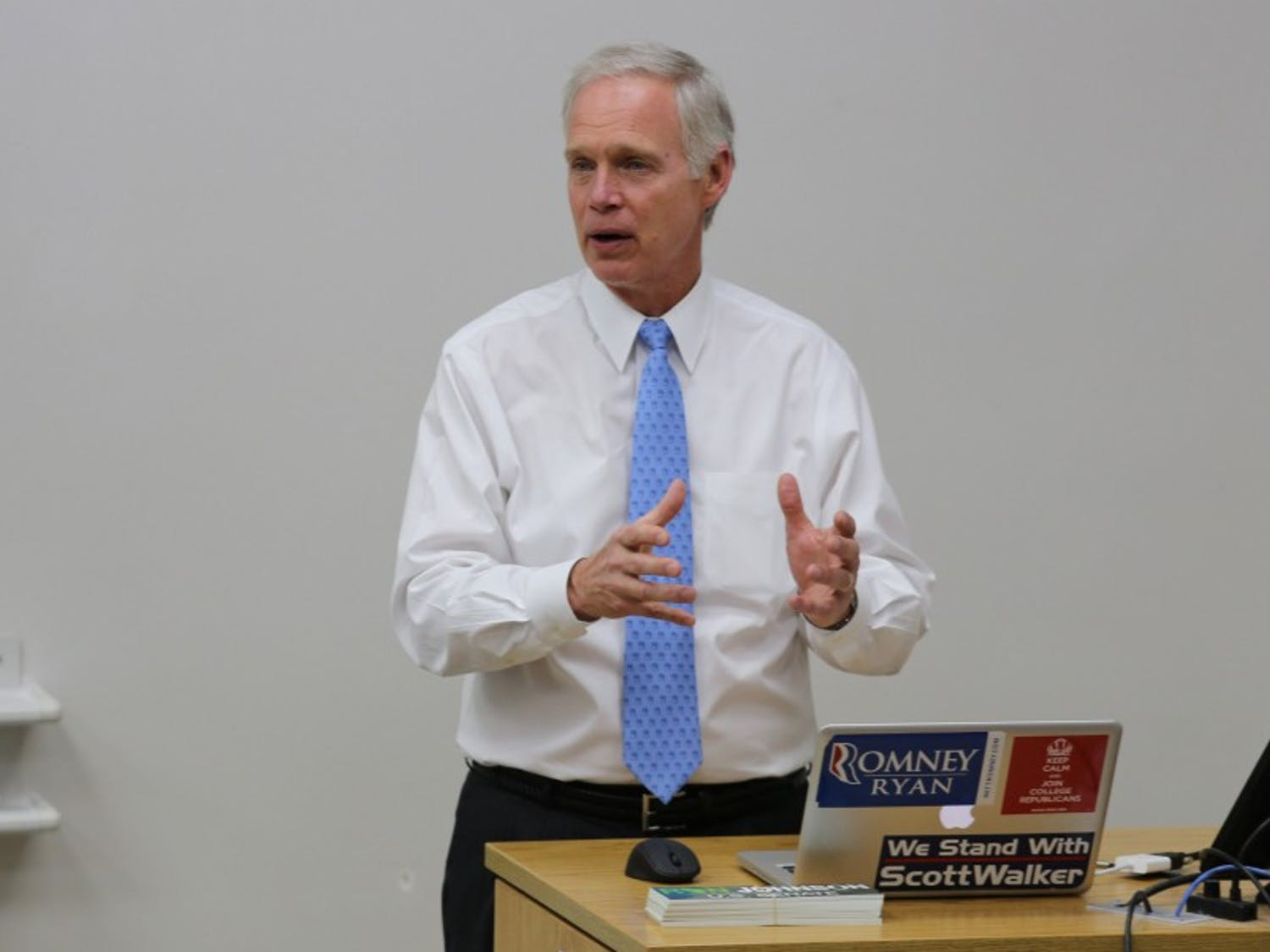 U.S. Sen. Ron Johnson called on FBI Director James Comey to release more information on his agency's investigation into a private email server run by Hillary Clinton.