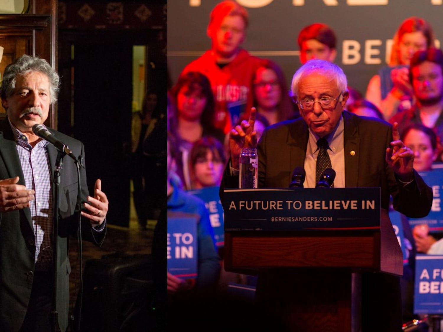 Madison Mayor Paul Soglin and Vermont Sen. Bernie Sanders were involved incollaborative efforts in the 1970s to reform local and state governments.