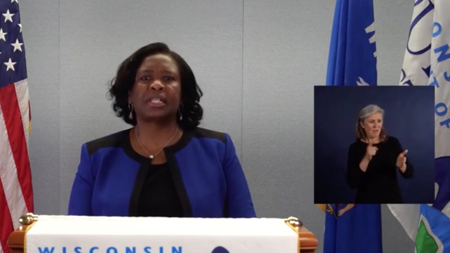 The superintendent discussed disparities in internet access, especially for children of color and children in poverty, as well as funding for special education and mental health services.