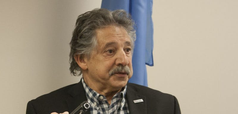 Soglin spoke at a press conference Wednesday, responding to the DA's decision not to indict the MPD officer who shot Tony Robinson.