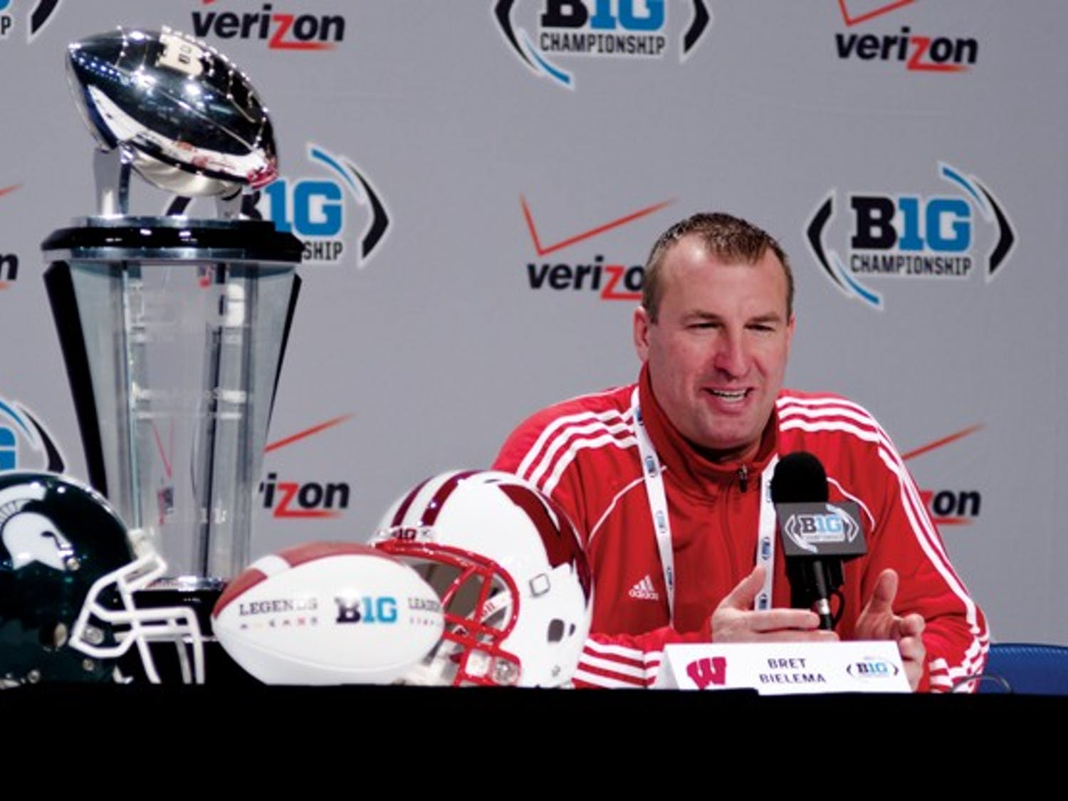 Photos: The B1G Championship Press Conference