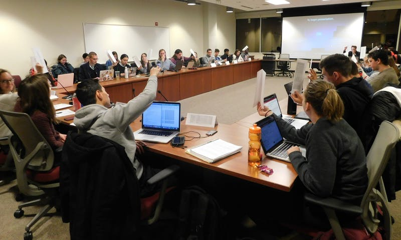 The Associated Students of Madison passed a resolution calling Chancellor Rebecca Blank to sign a renewable energy commitment, which requires setting sustainability goals and creating a timeline.