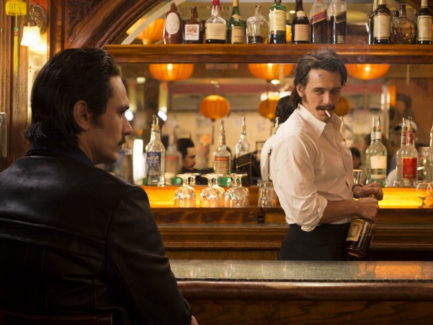 """James Franco plays a set of twins onHBO's """"The Deuce,"""" premiering Oct. 10 at 8 p.m."""
