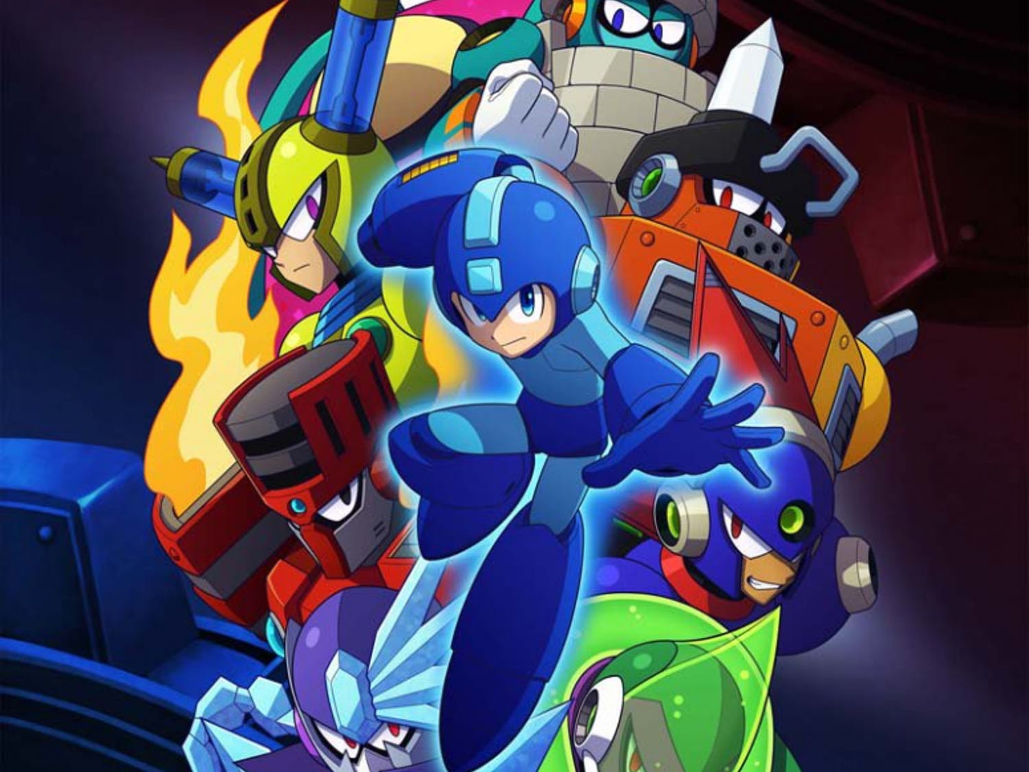 """Mega Man 11"" is out now for PC, PlayStation 4, Xbox One and Switch."