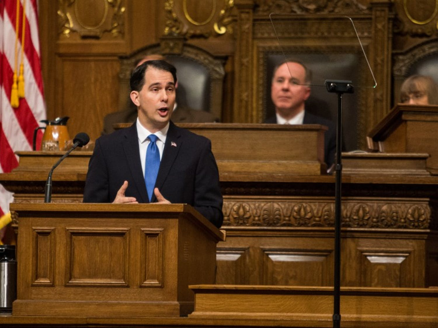 Gov. Scott Walker announced Monday he is moving forward with a plan to drug test food stamp applicants.