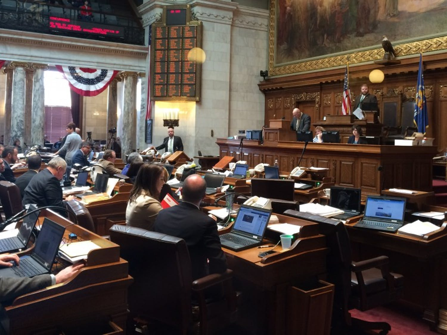 The State Assembly met for likely the last time for this year on Thursday.