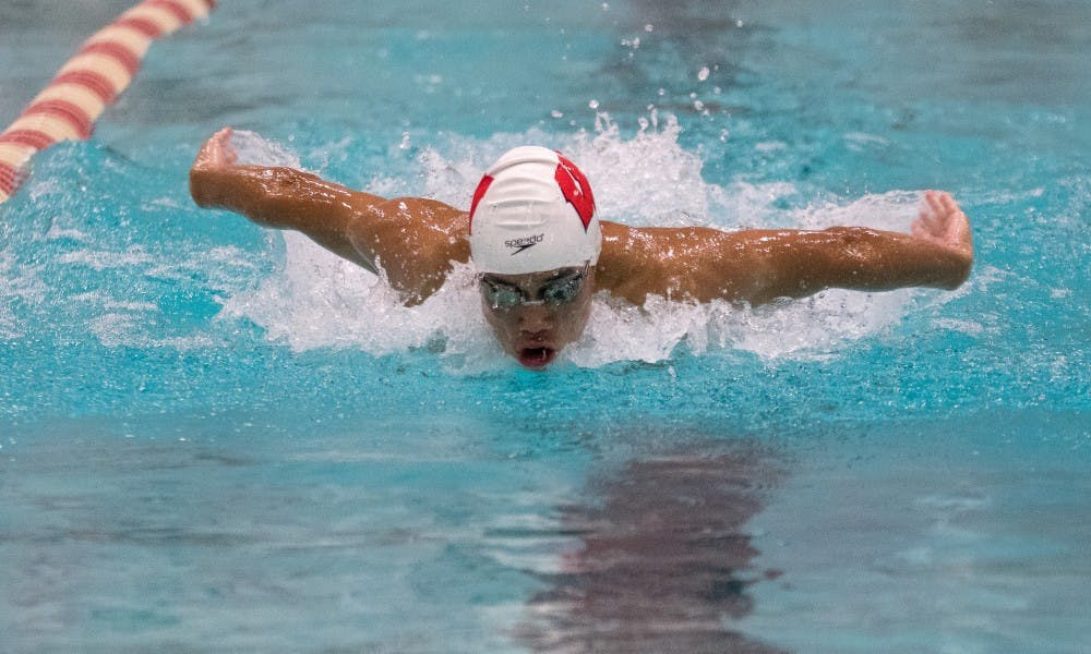 M.J. Mao will likely be pushed by Blair Bash of Missouri State in the breaststroke and individual medley events.