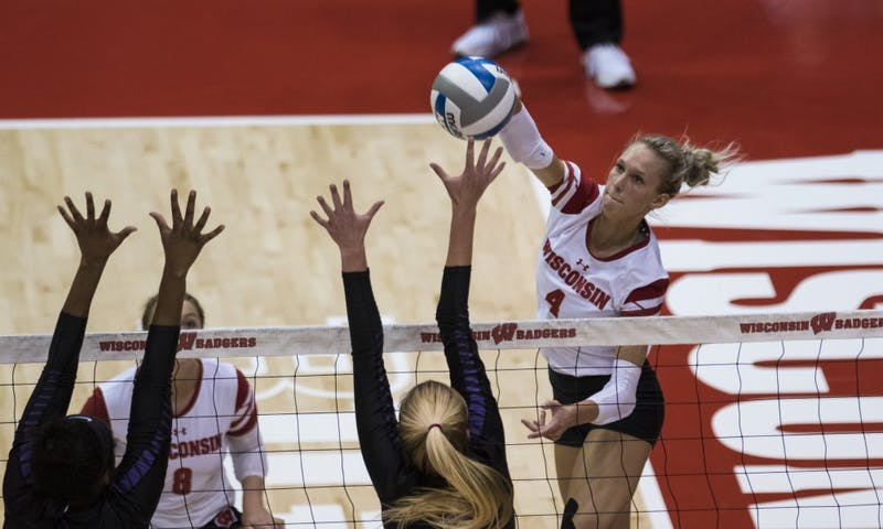 Kelli Bates and the Badgers advanced to the Sweet Sixteen after two postseason road sweeps.